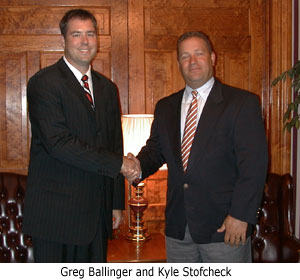 Greg Ballinger and Kyle Stofcheck